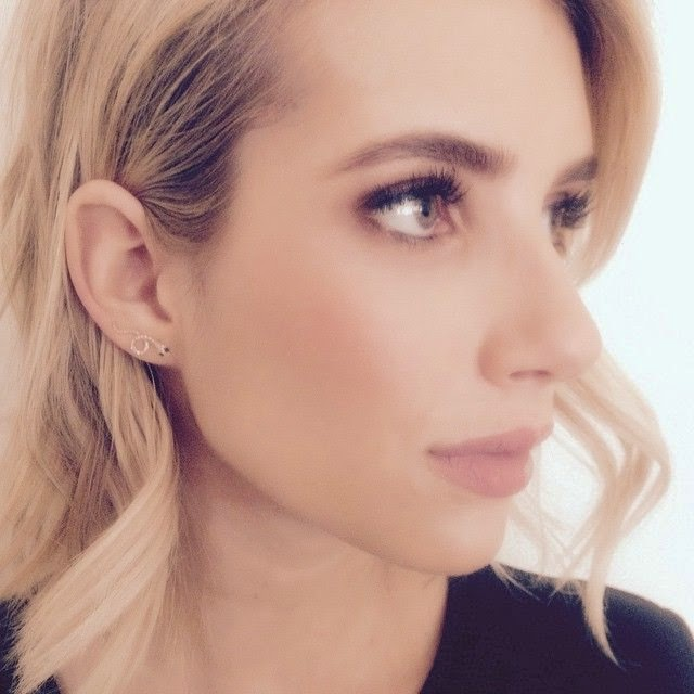 Happy 24th Birthday, Emma Roberts! And honestly, your gorgeous face is definitely tally with an excellent earrings by Elizabeth Sayles jewelry as she shared this photo into her Instagram account.