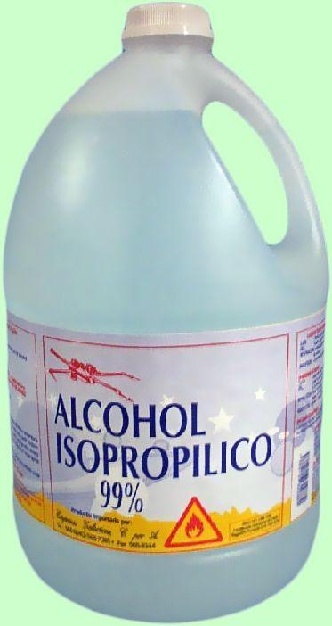 Mantenimiento materiales para la limpieza interna y - Limpiar con alcohol ...