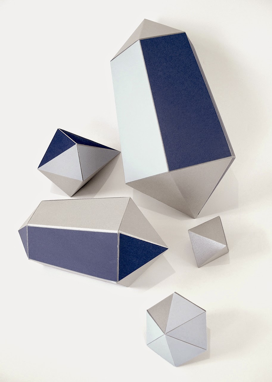 Paper Gem & Paper Diamond Shapes - Made by Keri Muller