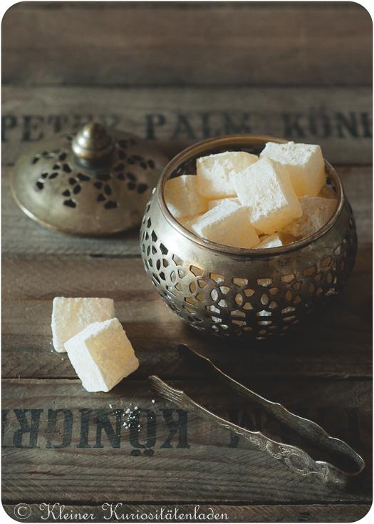 Lokum ~ Turkish Delight ~ Rahat Lokum