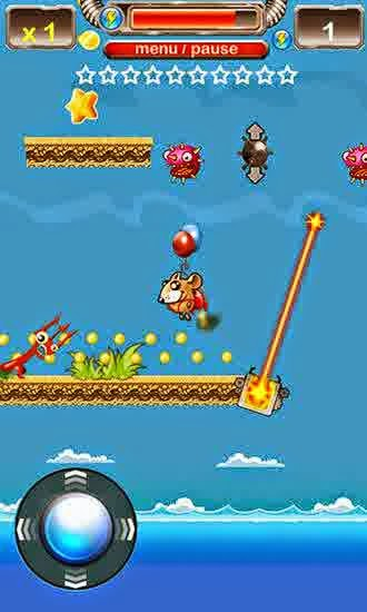 Jetpack Mouse Fantasy World game