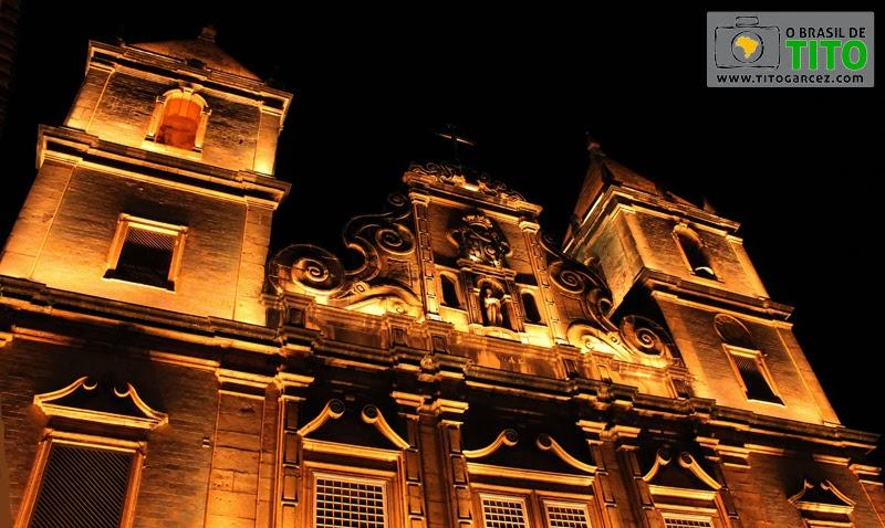 Igreja de São Francisco, no Centro Histórico de Salvador, na Bahia - Por Tito Garcez em 2013