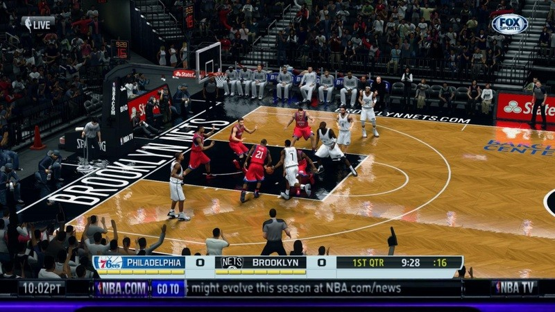 NBA 2K14 FOX Sports + NBA TV Overlay Presentation Mod