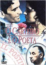 capa DVD filme O carteiro e o poeta