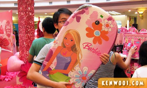 barbie surfboard