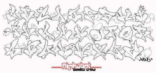 Graffiti art design love style graffiti alphabet bandits crew you can create your name using this style style that is not less than the other art forms so get another style of writing graffiti name will appear altavistaventures Choice Image