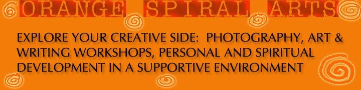Orange Spiral Arts