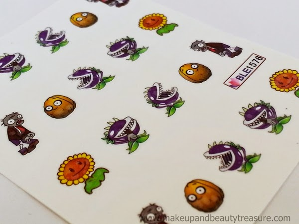 Plants-Vs-Zombies-Nail-Art