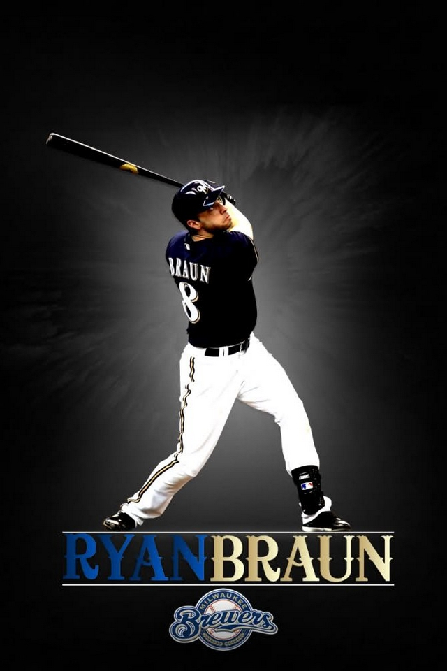 ryan braun   download iphone ipod touch android wallpapers backgrounds themes