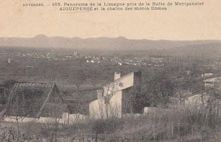 La plaine de la Limagne.