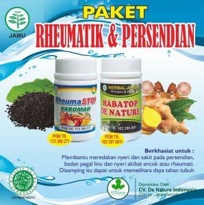 Obat Herbal Rematik dan Persendian De Nature