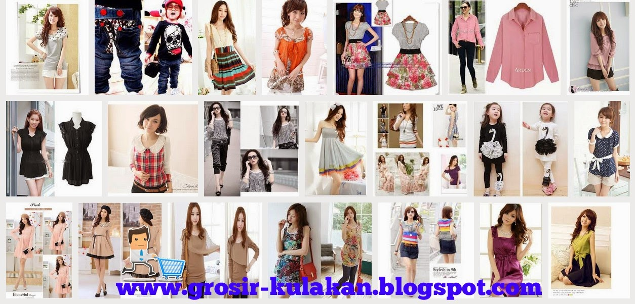 Supplier Baju Import Korea