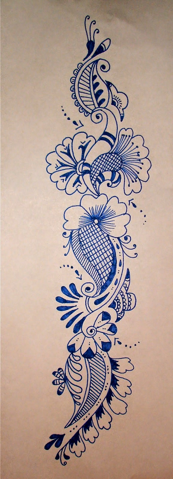 66 Images For Paper Drawing Henna Design All What Veiled
