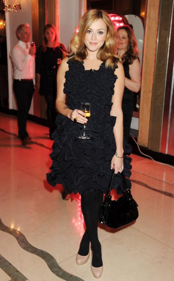 xxx literature Fearne Cotton in Olivia Rubin Brick dress