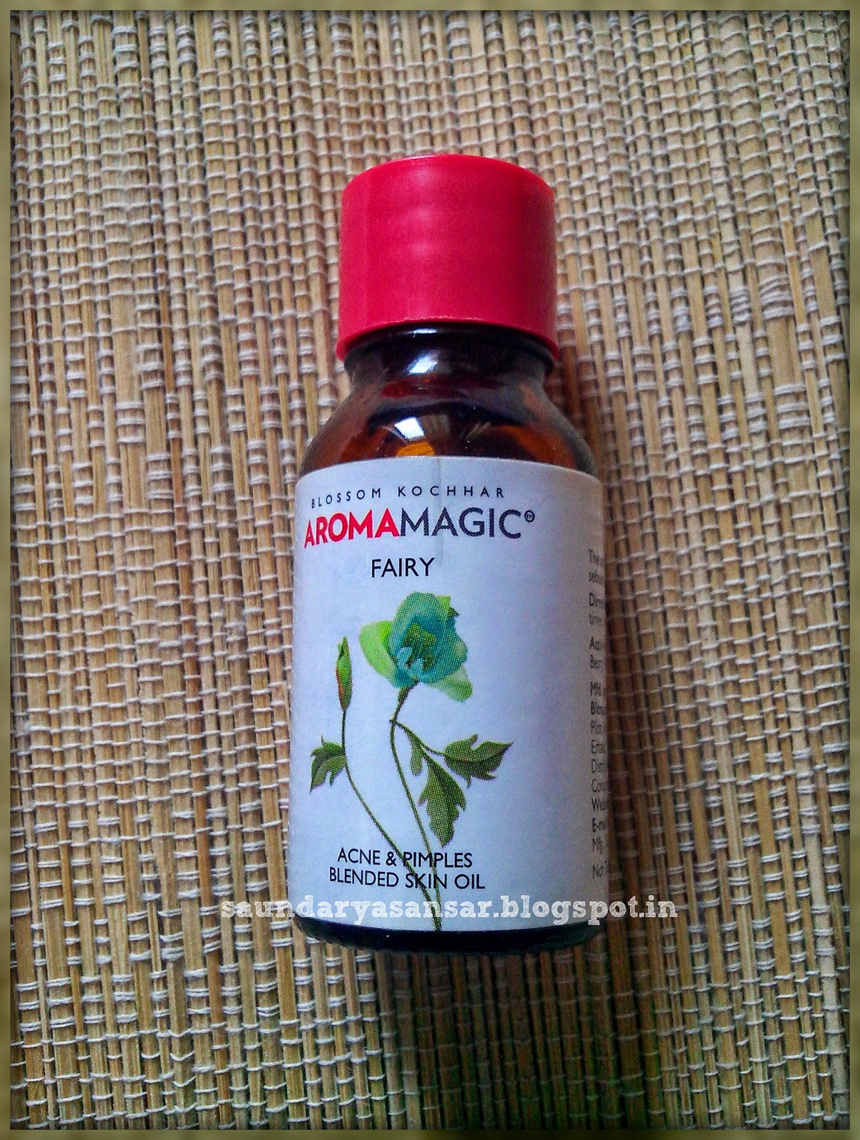 Aroma Magic- Fairy for Acne & Pimples- blended oil Review