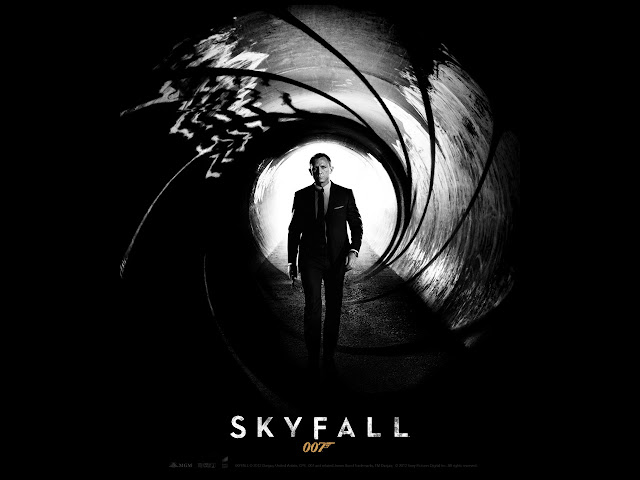 Skyfall PowerPoint background 06