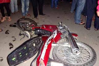 Đà Lạt: Môtô CSGT tông nát xe máy