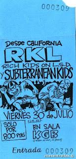 entrada de concierto de rkl