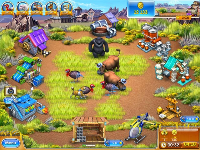 Farm Frenzy 3 - Permainan Pertanian 3