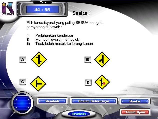 Ujian Jpj Kpp Test Undang Undang Teory Berkomputer Jpj Soalan Ujian Kurikulum Pendidikan Pemandu Kpp Test Software Free Download