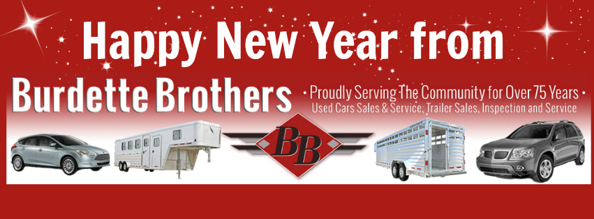 wishing everyone a happy healthy and prosperous new year thank you for helping to make 2015 such a wonderful year for burdette brothers