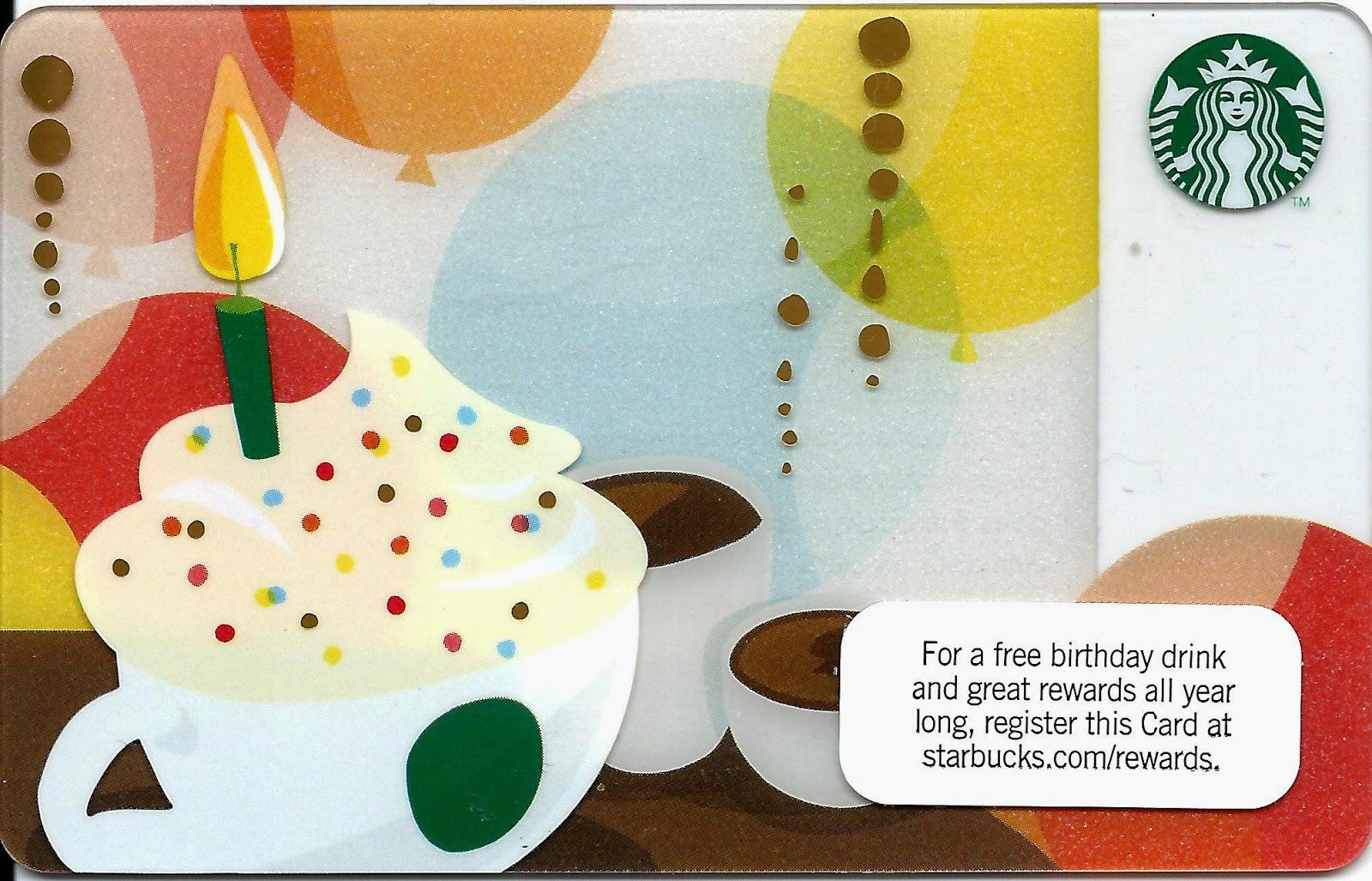 Starbucks Birthday Card gangcraftnet – Birthday Cards Usa