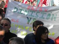 Manifestación 14-N Gran Vía Vigo