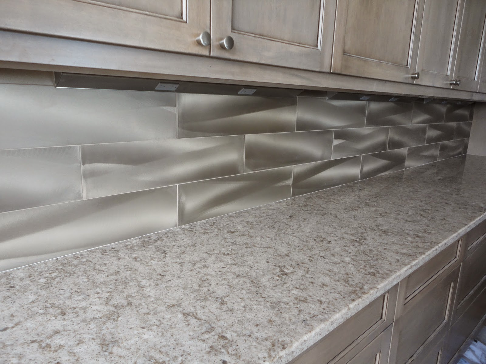 Tile Sarasota: Metaluxe tile install on a kitchen backsplash ...