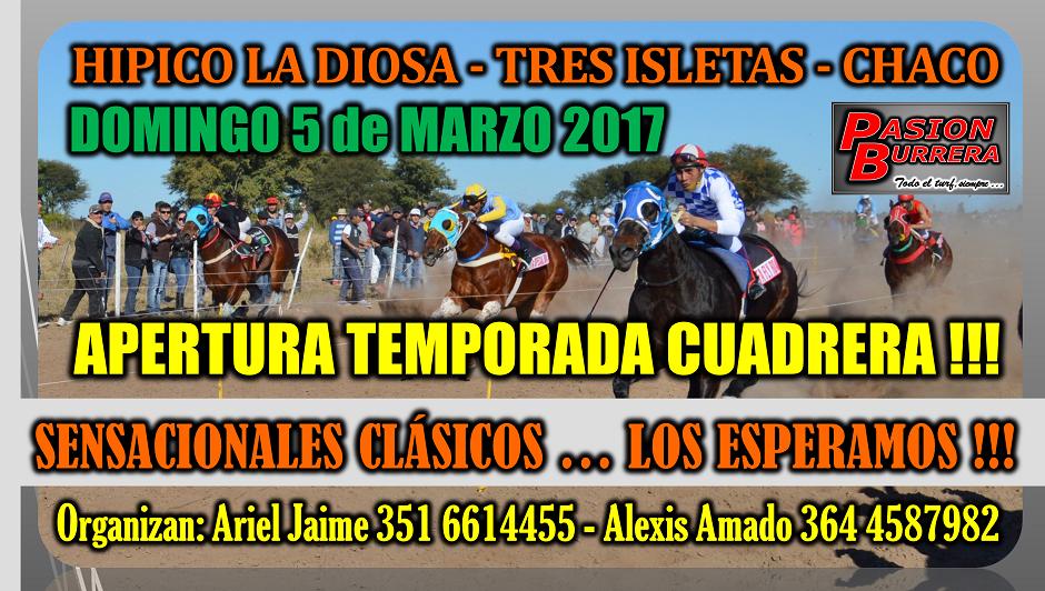 TRES ISLETAS - 5 DE MARZO