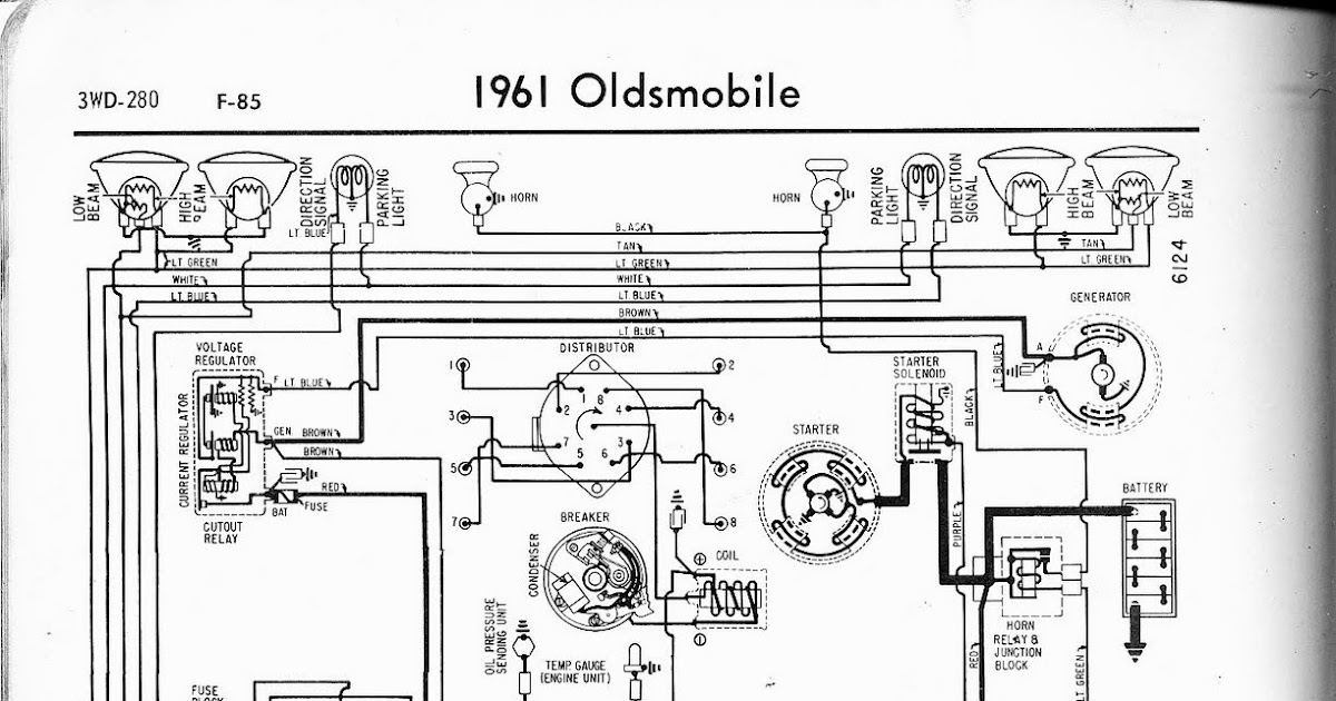 free auto wiring diagram 1961 oldsmobile f 85 wiring diagram