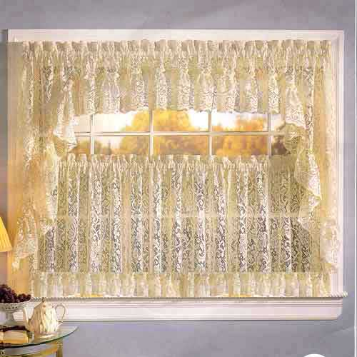 Interior design decorating ideas modern kitchen curtains for Modern kitchen curtains ideas