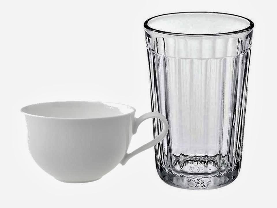 чашка и стакан