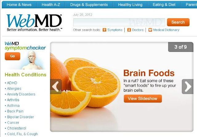 Site of the Day | Health - Web MD