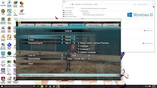 Cara memakai Stick GamePad abal-abal pada game PC FINAL FANTASY TYPE-0 HD
