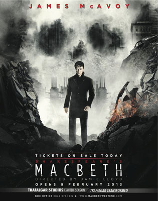 James Mcavoy macbeth