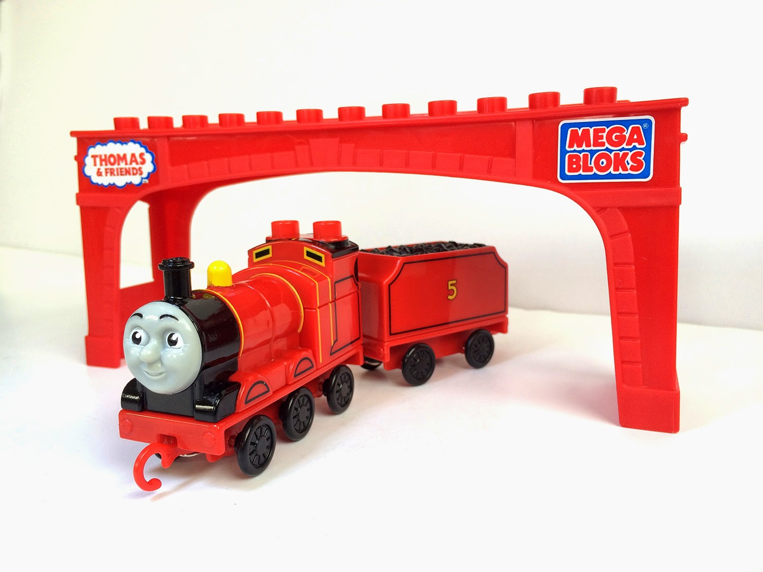 James - Thomas and Friends Mega Bloks Trains