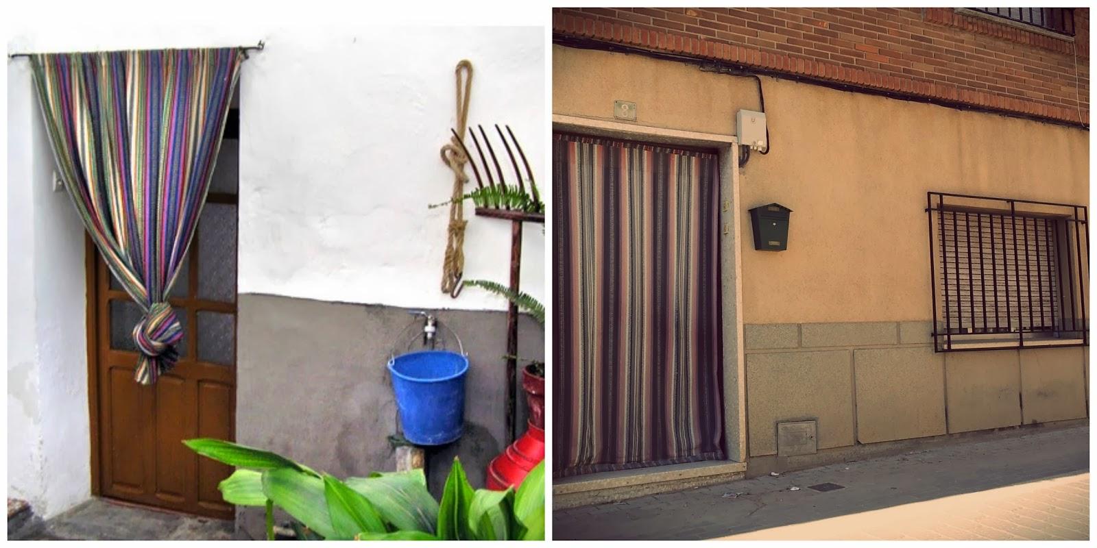 Lascositasdelamparita en un lugar de la mancha falda - Cortinas mosquiteras para puertas ...