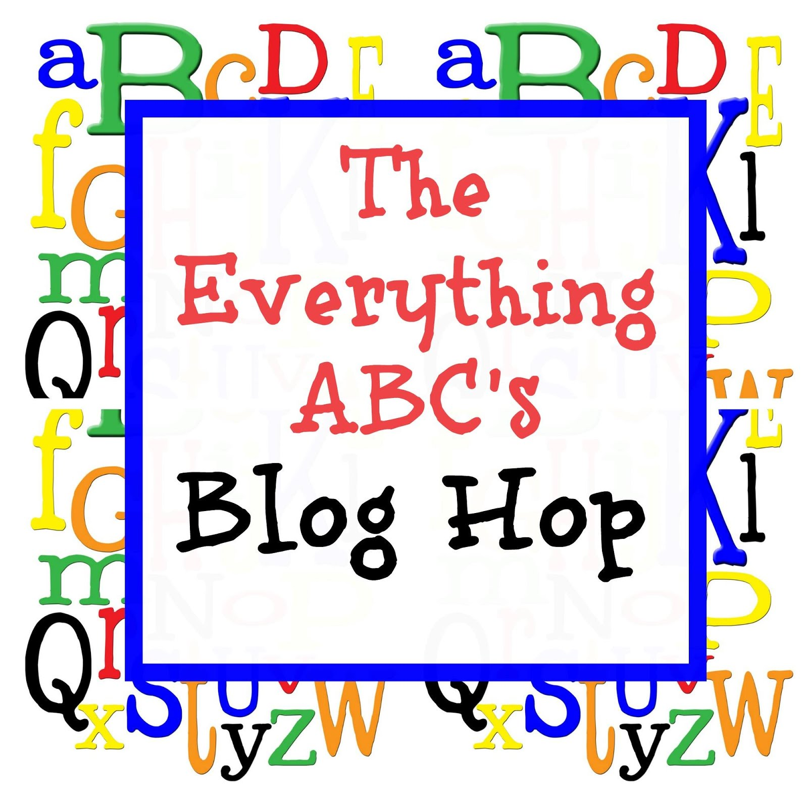 Everything ABC's Blog Hop