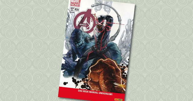 Avengers 26 Panini Cover