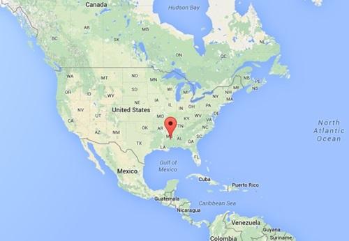 Missisippi Eyaleti Amerika'nın Neresinde