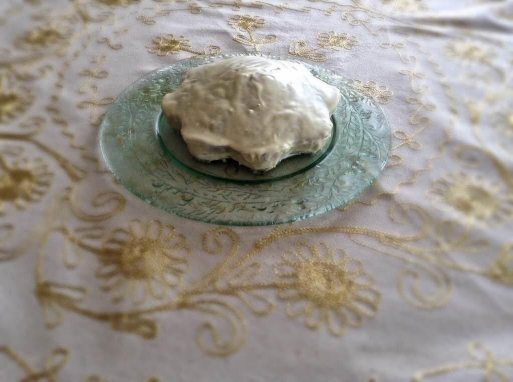 Yağsız Limonlu Haşhaşlı Kek