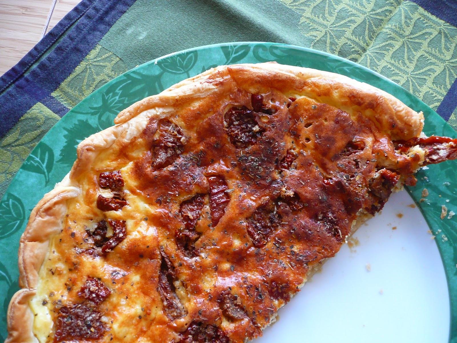 Petits cahiers en cuisine tarte au mascarpone et tomates - Cuisine au mascarpone ...