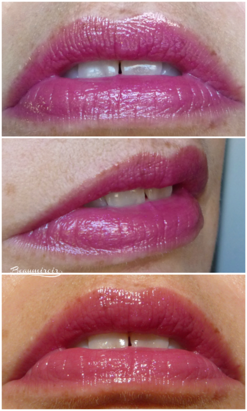 New Dior Addict Lipstick: lip swatches of Fashion Night #881