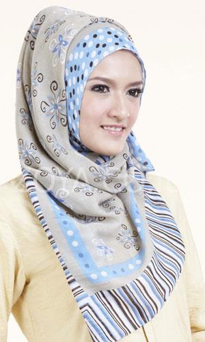 tutorial cara memakai jilbab zoya para pecinta jilbab yang selalu