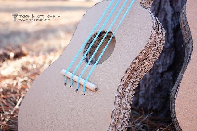 Своими руками гитару из подручных материалов 35