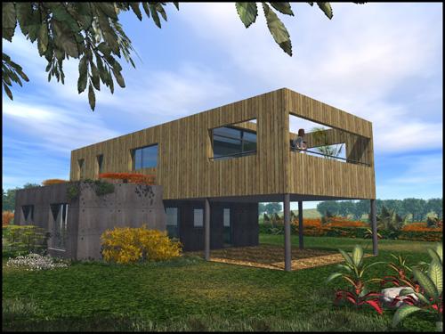 Soha architecte paimpol mati res pour une maison avec vue for Maison moderne 83