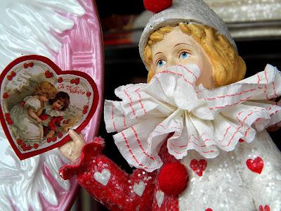 Valentine's Day harlequin
