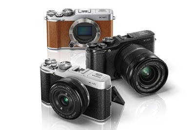 Fujifilm X-M1, new compact camera, retro camera