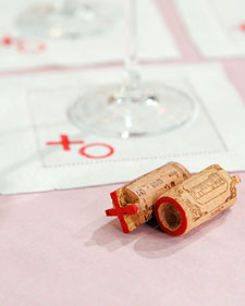 wine cork projects - stamps