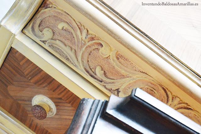 Pátina sobre madera